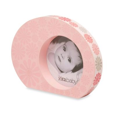 C.R. Gibson iotababy! Wooden Photo Frame in Flower Girl