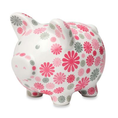 C.R. Gibson iotababy! 1st National Bank of Piggy in Flower Girl