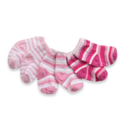 C.R. Gibson iotababy! Sock-a-Teeny Newborn Gift Set in Primarily Girl