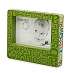 C.R. Gibson® iotababy! Wooden Photo Frame in Alphabet Soup