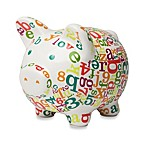C.R. Gibson® iotababy! 1st National Bank of Piggy in Alphabet Soup