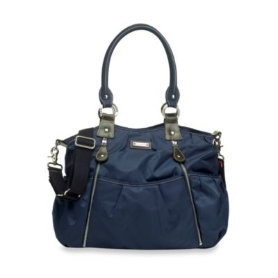 Storksak® Olivia Shoulder Diaper Bag in Navy