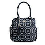 AD Sutton Signature Diaper Satchel in Blue