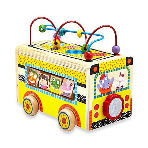Alex 174 Rolling Busy Bus Buybuy Baby