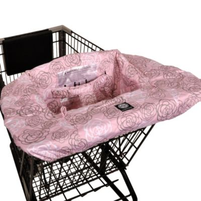Balboa Baby® Shopping Cart and High Chair Cover in Pink Camellia