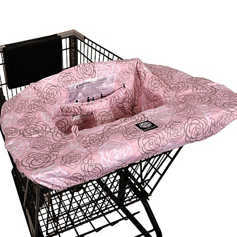 buy balboa baby shopping cart and high chair cover in pink camellia from bed bath beyond. Black Bedroom Furniture Sets. Home Design Ideas