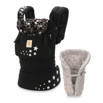 Ergobaby® Original Collection Bundle of Joy Night Sky Carrier with Galaxy Grey Infant Insert