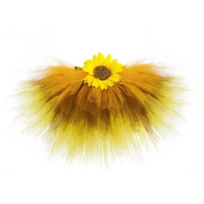 Just Pretend® The Sunflower Collection Small (4T-5T) Tutu in Yellow/Brown/Orange