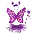 Just Pretend® The Nina Collection Dress Up Tutu 4-Piece Set in Purple