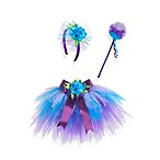 Just Pretend® The Peggy Collection 3-Piece Tutu and Headband Set