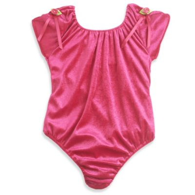 Just Pretend® The Chloe Small (2T-3T) Bodysuit Collection in Fuchsia