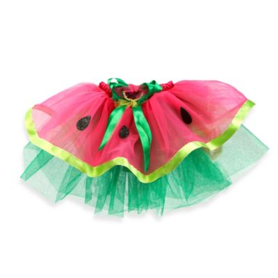 Just Pretend® The Watermelon Collection Small (2T-3T) Tutu in Fuchsia/Green