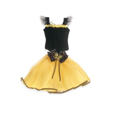 Just Pretend® Bumblebee Collection Medium (4T-5T) Tutu and Bodysuit