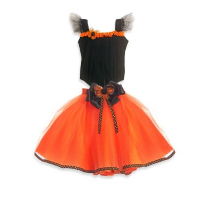Just Pretend® Monarch Butterfly Collection Small (2T-3T) Tutu and Bodysuit