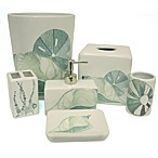 La Mer Boutique Tissue Holder by Bacova Guild