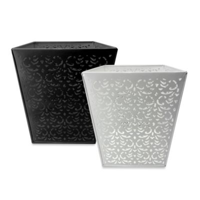 Steel Laser Cut Wastebasket