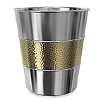 Tatara Group Saturn Wastebasket in Stainless Steel
