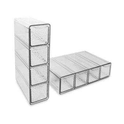 interDesign Rain 4-Drawer Organizer