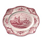 Wedgwood® Johnson Brothers Old Britian Castles 11-Inch Platter in Pink