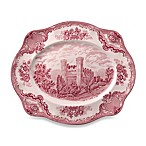 Johnson Brothers Old Britian Castles 16-Inch Platter in Pink