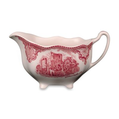 Johnson Brothers Old Britian Castles Creamer in Pink