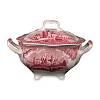 Wedgwood® Johnson Brothers Old Britian Castles Sugar Bowl with Lid in Pink