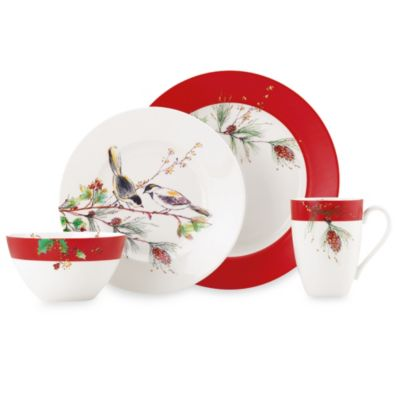 Lenox® Winter Song 4-Piece Place Setting
