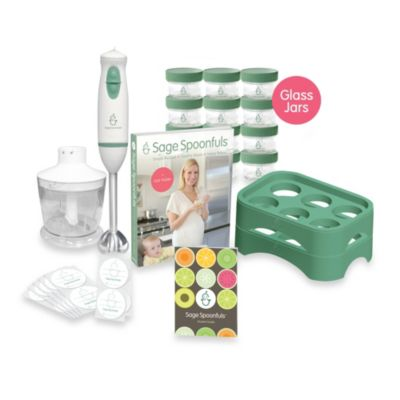 Sage Spoonfuls 19-Piece Let's Get Started Package w/Glass Jars