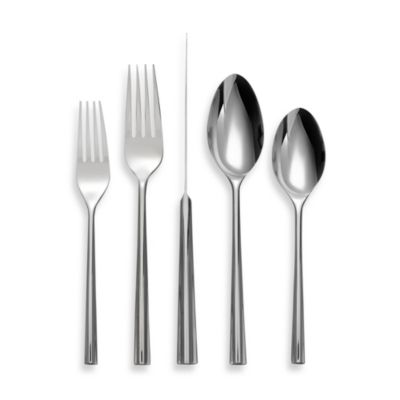 Nambe Tri Corner 5-Piece Flatware Place Setting