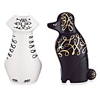 kate spade new york Woodland Park Cat & Dog Salt & Pepper Shaker Set