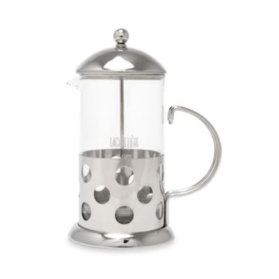 La Cafeterie Santos 8-Cup Chrome French Press
