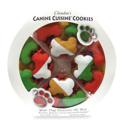 Canine Holiday Bone Party Platter