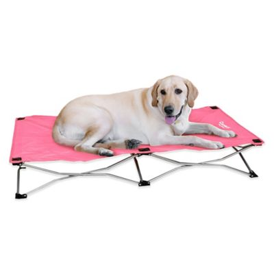 Portable Small Pup Bed in Pink
