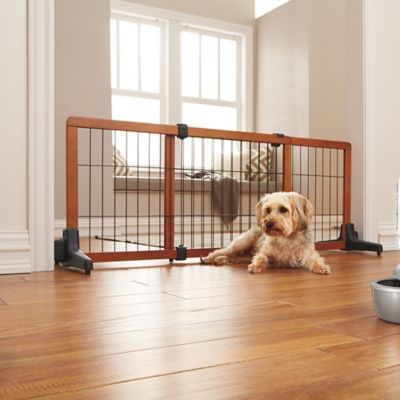 Freestanding Expandable Extra Wide Pet Gate with Pressure Mount