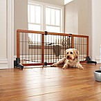 20-Inch Freestanding Extra Wide Pet Gate with Pressure Mount