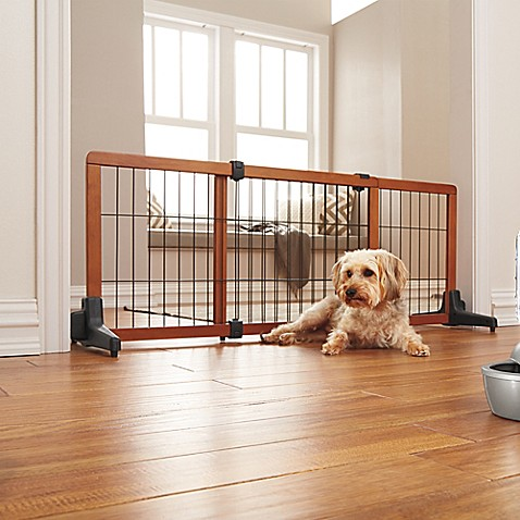 Buy 60 Quot Wide Dog Gate From Bed Bath Amp Beyond