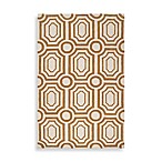 angelo:HOME Hudson Park Geometric Rug in Gold/White