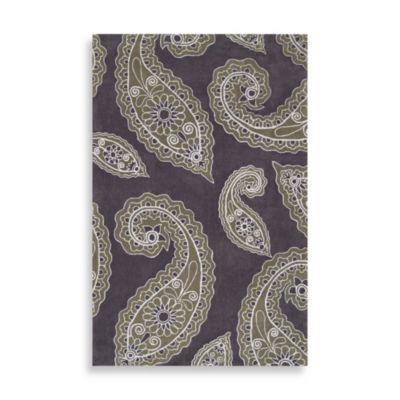 angelo:HOME Hudson Park Paisley Rug in Charcoal