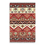 Estarreja Rug in Red/Brown