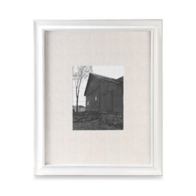 Malden® Barnside Matted 16-Inch x 20-Inch Picture Frame in Cream