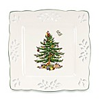 Spode® Christmas Tree 7.5-Inch Pierced Square Tray