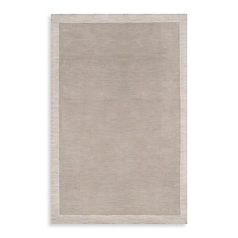 angelo:HOME Madison Square Bordered Rug in Cobblestone