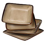 Nova Brown 7 1/2-Inch Square Salad Plates (Set of 4)