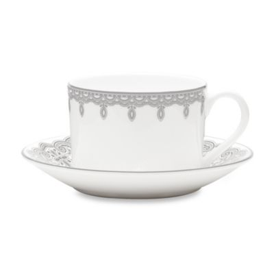 Waterford® Lismore Lace 2.5-Inch Teacup and Saucer