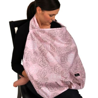 Balboa Baby® Nursing Cover in Pink/Grey