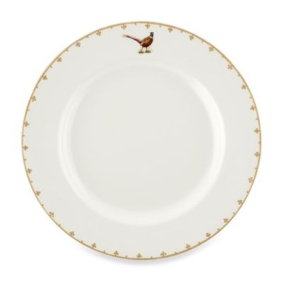 Spode® Glen Lodge Pheasant 10.5-Inch Dinner Plate (Set of 4)
