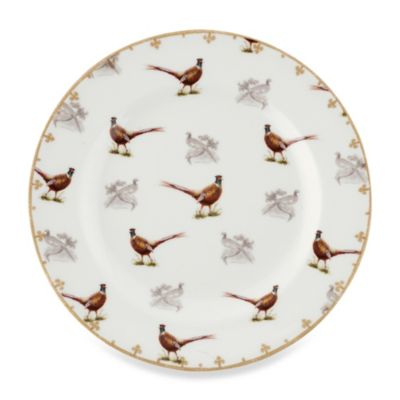 Spode® Glen Lodge Pheasant Salad Plate (Set of 4)