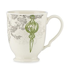 Lenox® Vintage Jubilee 13-Ounce Green Ornament Mug