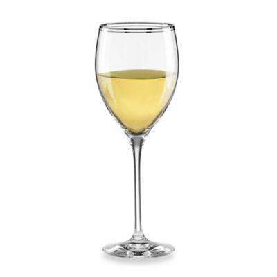 kate spade new york Library Lane Platinum™ 12 oz. Wine Goblet