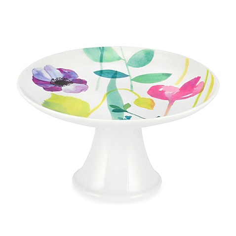Portmeirion® Water Garden 6-Inch Mini Cake Stand
